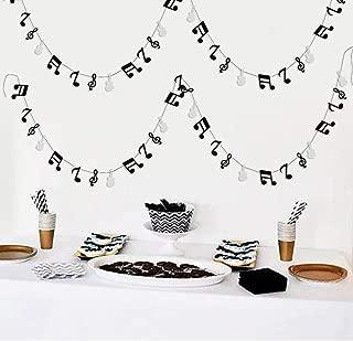 music note garland