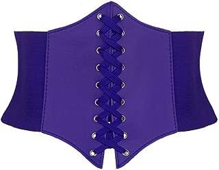 Alivila.Y Fashion Faux Leather Steampunk Sexy Underbust Waist Belt Corset