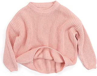 Sponsored Ad - Afunbaby Baby Girl Boy Knit Sweater Blouse Pullover Sweatshirt Warm Crewneck Long Sleeve Tops for Infant To...
