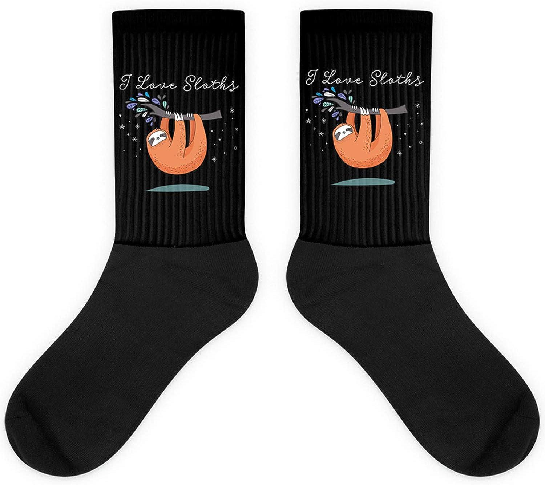 I Love Sloth-Cute Sleeping Spirit Animal Gift Sock
