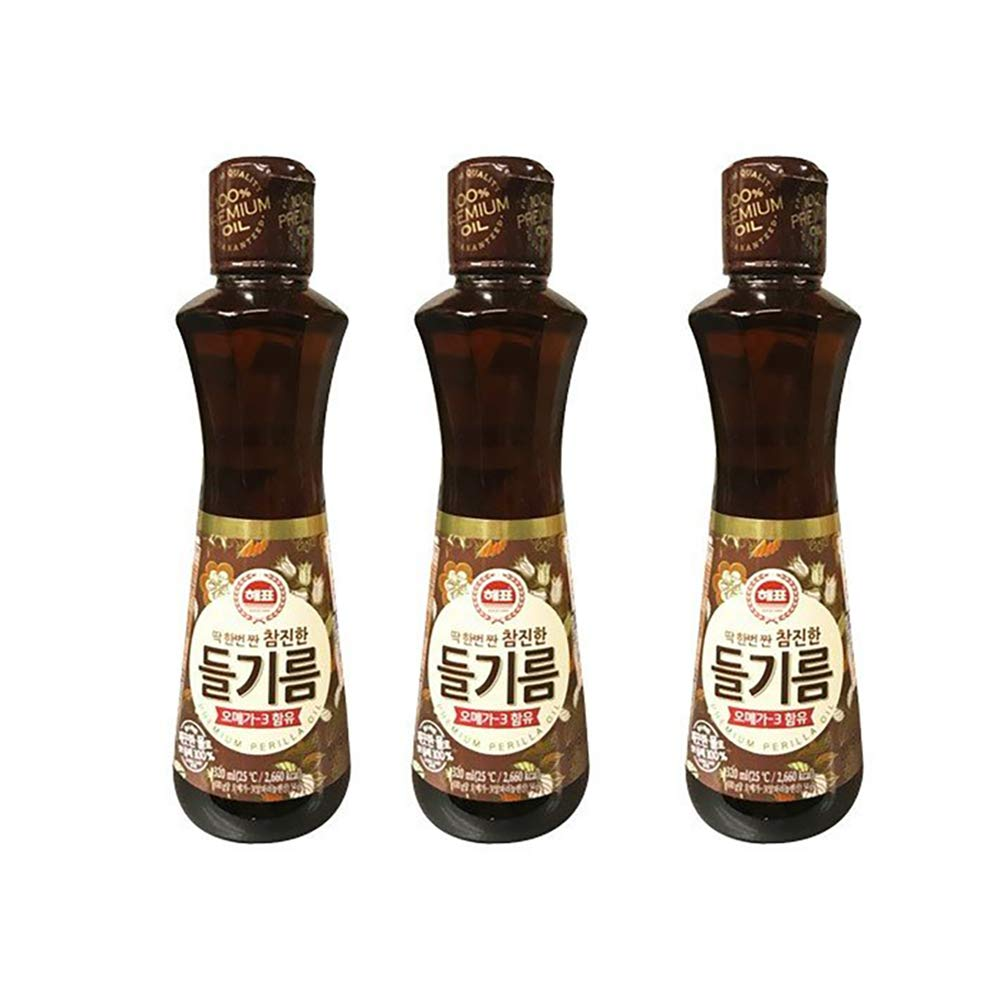 Hepyo Al sold out. perilla oil 320ml pieces Rare