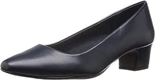 Womens Prim Closed Toe Classic Pumps, Navy, Size 8.5