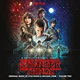 Stranger Things vol. 2, 2018 Repress Blue and Black Swirl Vinyl (Una banda sonora de la serie original de Netflix) [Vinilo]