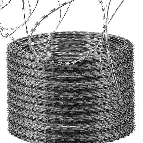 OrangeA Razor Wire Galvanized Barbed Wire...