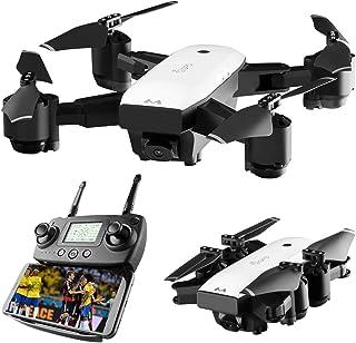 SMRC S20 Mini GPS Drone con cámara gran angular 1080P 2.4G RC Quadcopter (Color: blanco y negro)
