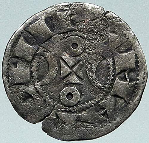 1199 FR 1199 FRANCE County of LA MARCHE Old Antique AR De coin Good Uncertified