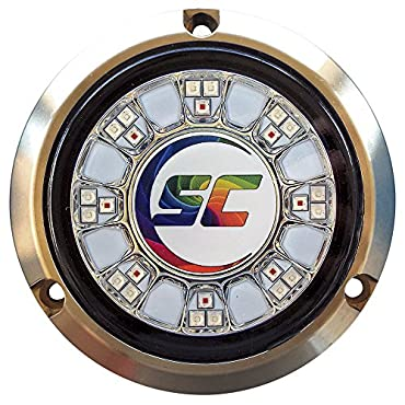 Shadow-Caster SCR-24 Bronze Underwater Light 24 LEDs Full Color Changing