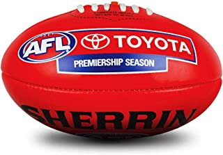 Sherrin Official AFL Replica Game Football PVC Size 5