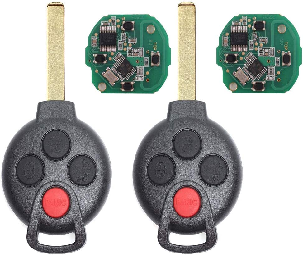 2021 Beefunny 315MHz PCF7941 Chip FCC: 3+1 4 Smart Button KR55WK45144 Indefinitely