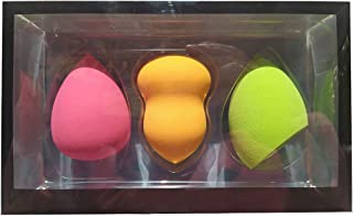 Beauty Makeup Sponge,Set of 3,Beauty Sponge Blender Beauty Foundation Blending Sponge, Flawless for Liquid, Cream, Powder,...