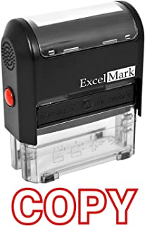 ExcelMark A1539 Copy Self-Inking Stamp with Reversible Pad (Stamp Only)