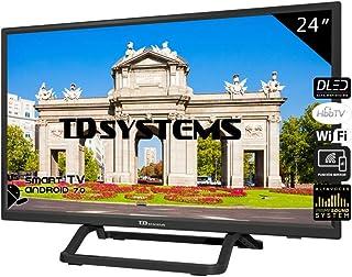 Televisores Smart TV LED 24 Pulgadas TD Systems K24DLX10HS.