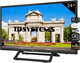 Televisores Smart TV LED 24 Pulgadas TD Systems K24DLX10HS.