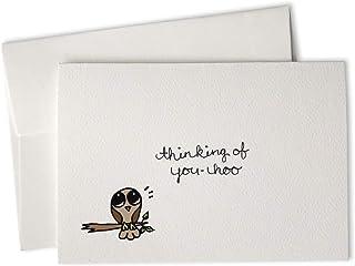 Yoo-Hoo Owl Thinking of You Cards - 24 Cards & Envelopes
