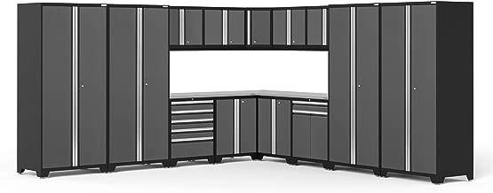 NewAge Products Pro 3.0 Gray 16 Piece Set, Garage Cabinets, 52160