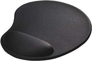 BUFFALO リストレスト一体型マウスパッド ブラック BSPD15BK