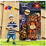 Sunny seat Five Nights at Freddy's Toss Game with 3 Bean Bags – Cool Game Theme Party Supplies...