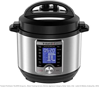 Instant Pot Ultra Mini 10-in-1 Electric Pressure Cooker, Sterilizer, Slow Cooker, Rice..