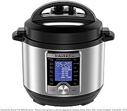 Instant Pot Ultra Mini 10-in-1 Electric Pressure Cooker, Sterilizer, Slow Cooker, Rice..
