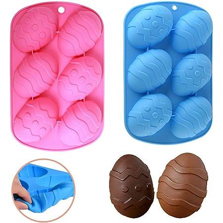 2 moldes de silicona para chocolate, moldes de chocolate, moldes de chocolate, moldes para cubitos de hielo para fiestas