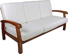 Amazon.it: divano in legno 3 posti: Casa e cucina