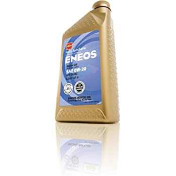Eneos (3230300) API SN/ILSAC GF-5 Certified 0W-20 Fully Synthetic Motor Oil - 1 Quart Bottle