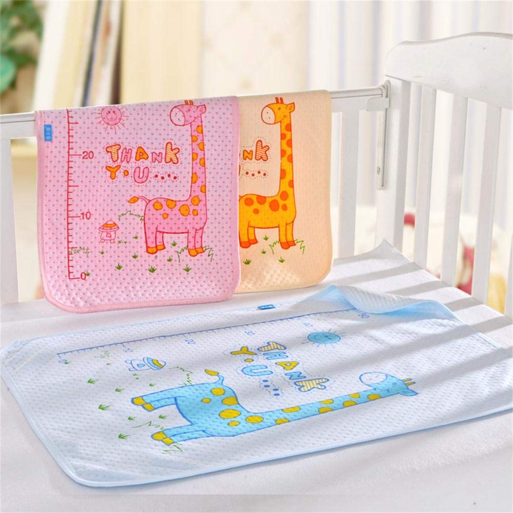 Monvecle 3pcs Pack Free Shipping New Baby Waterproof Changi Infant Cotton Rare