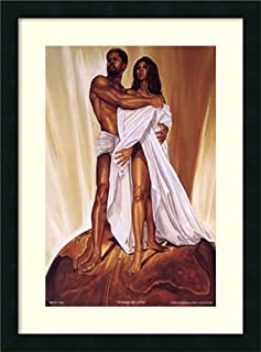 Framed Wall Art Print Power of Love by WAK - Kevin A. Williams 18.25 x 24.00