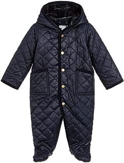 Ralph Lauren Baby Boys Quilted Bunting Snowsuit 3 Months Blue