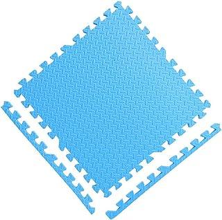 YANGJUN Interlocking Foam Mats Kids Protection Waterproof Non-slip Thicken Household Bedroom, 4 Colors (Color : D, Size : ...