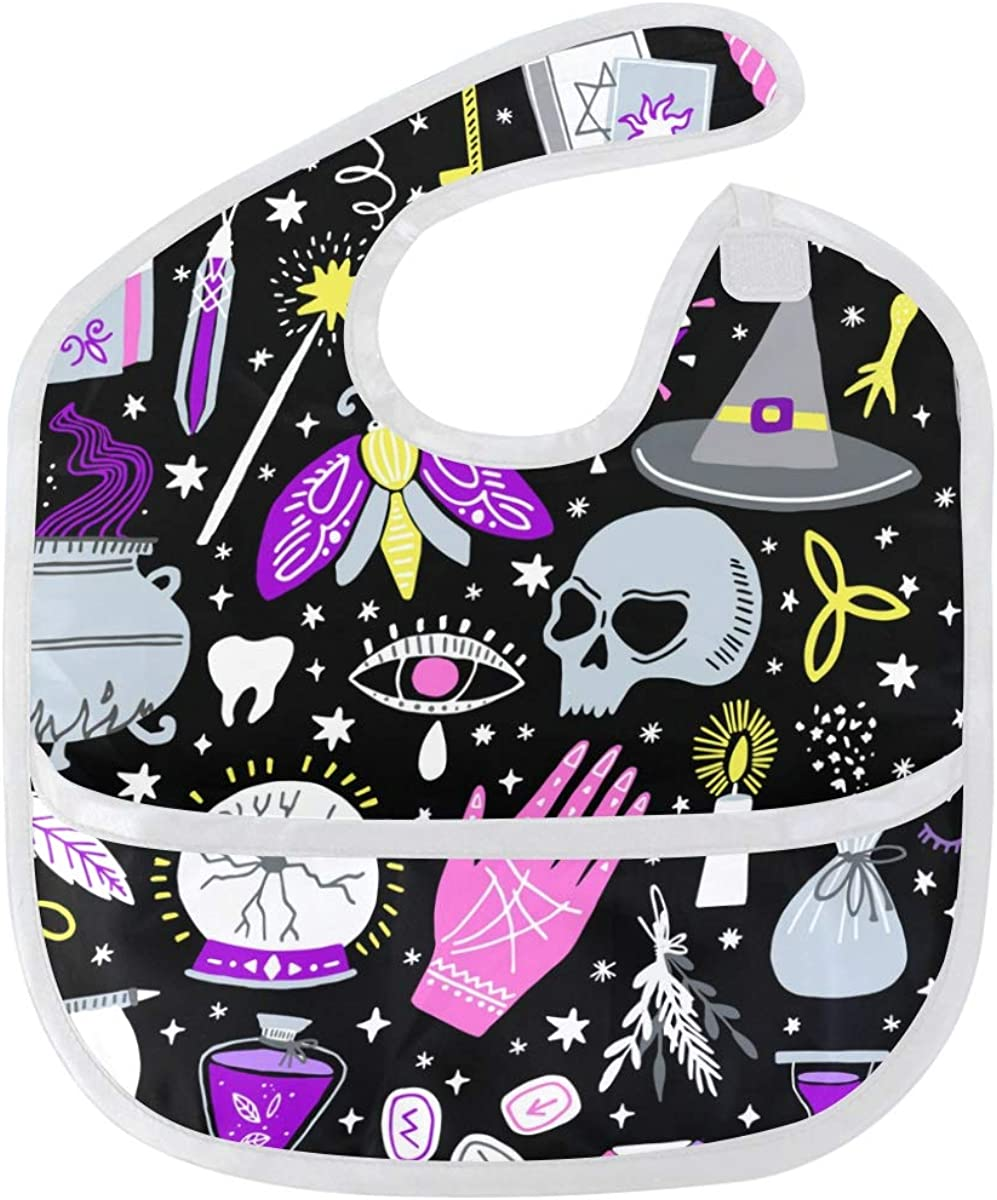 Halloween Pattern Baby Bibs Superior Waterproof depot Washable Odor Stain and