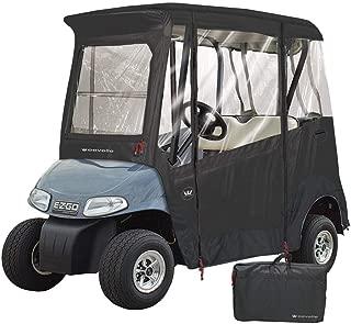 Greenline by Eevelle 2 Passenger EZ-GO Custom Golf Cart Enclosure