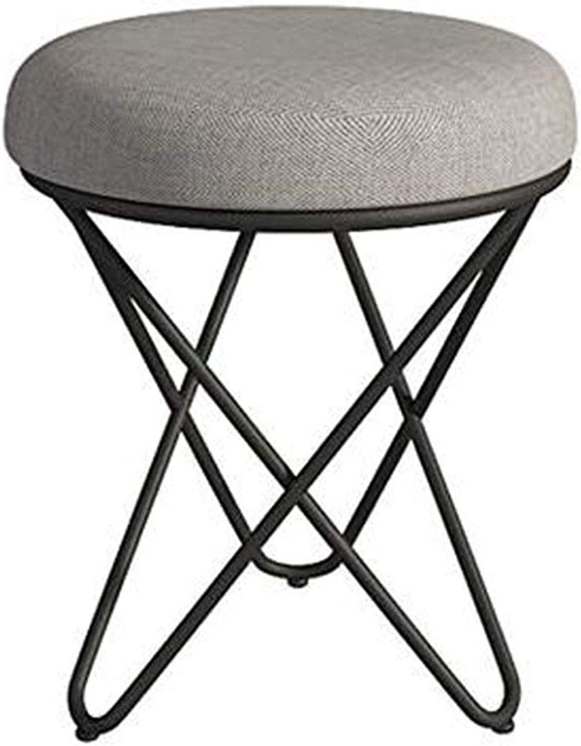 Makeup Chair Bedroom Creative Round Chair Bedroom Dressing Stool Nordic Dressing Table Stool Modern Simple Makeup Chair Nail Makeup Stool Makeup Stool Dress Stool,B