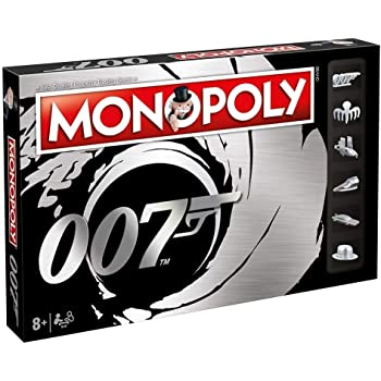 Winning Moves James Bond 007 Monopoly Board Game