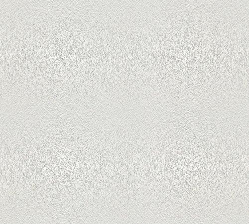 A.S. Création überstreichbare Vliestapete Meistervlies 6 Tapete 10,05 m x 0,53 m weiß Made in Germany 311016 3110-16