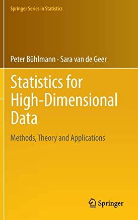 Statistics for High-Dimensional Data: Methods, Theory and Applications