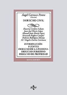 Derecho Civil: Introducción. Fuentes. Derecho de la persona. Derecho subjetivo. Derecho de propiedad (Derecho - Biblioteca...