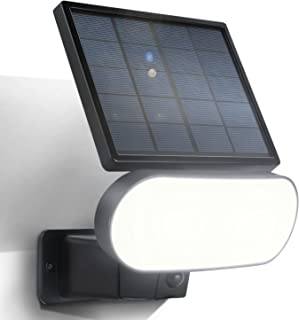 Wasserstein 2-in-1 Solar Panel Charger & Security Light Compatible with Arlo Pro 3/Pro 4 & Arlo Ultra/Ultra 2 (Black) (NOT...