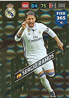 FIFA 365 2018 - SERGIO RAMOS LIMITED EDITION CARD RARE PANINI ADRENAYLN XL