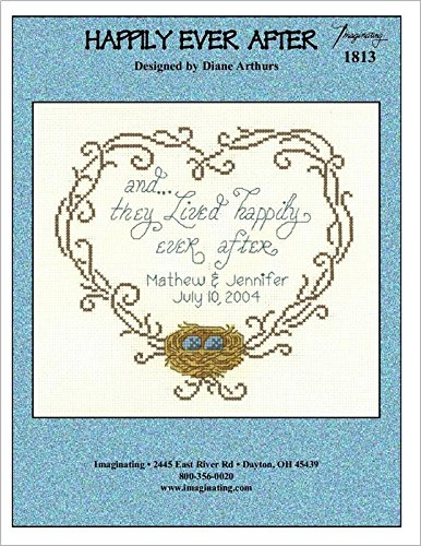 Happily Ever After (Model 1813) Cross Stitch Kit and Free Embellishment