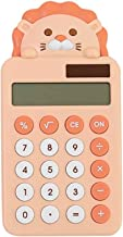 $26 » Office Supplies Calculator Cute Lion Calculator Portable Desktop Calculator Basic Calculators, Solar Battery Dual Power El...
