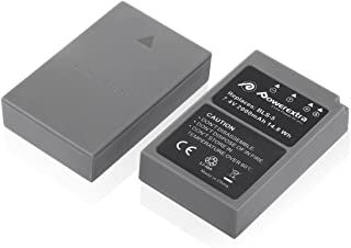 Powerextra 2 Pack Battery for Olympus BLS-5, BLS-50, PS-BLS5 and Olympus OM-D E-M10, Pen E-PL2, E-PL5, E-PL6, E-PL7, E-PM2, Stylus 1