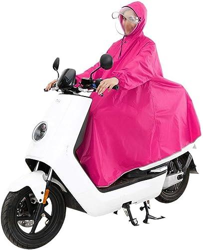 Pluie Poncho Imperméable Imperméable De Imperméable Météo Veste Style Simple Imperméable électrique Voiture Adulte Hommes Et Femmes Unique Taille Double épais Chapeau Poncho