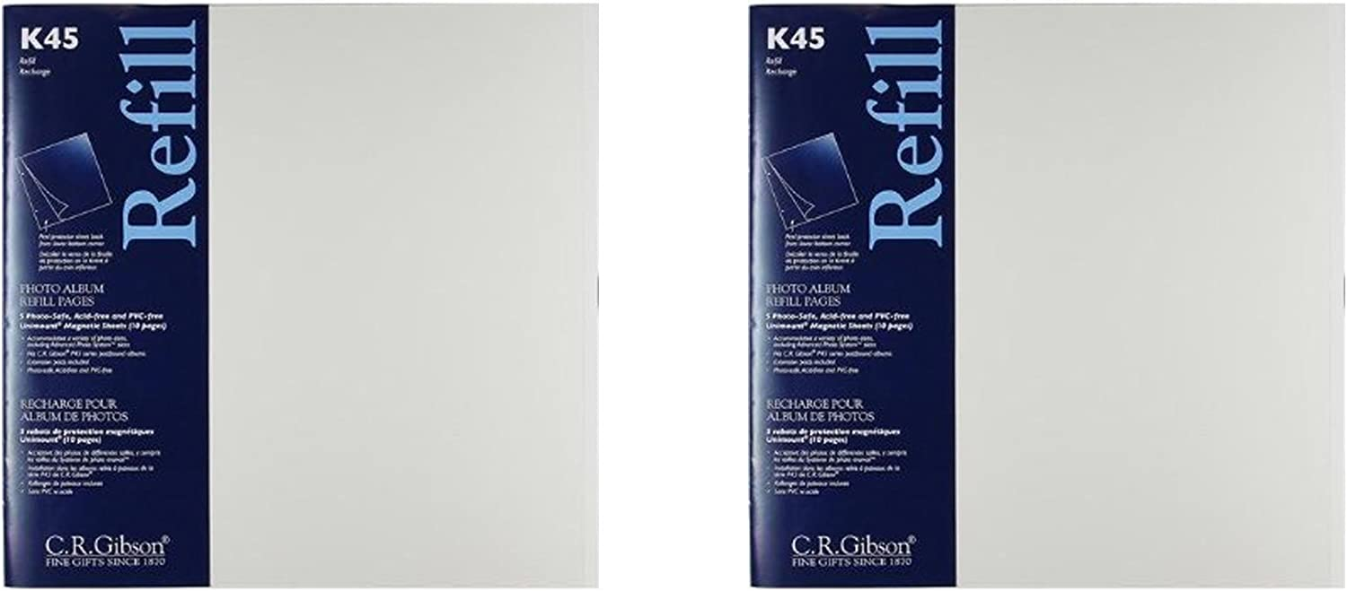 C.R. Gibson K45 Unimount Magnetic Sheet and The Portland Mall for free shipping P45 Refills