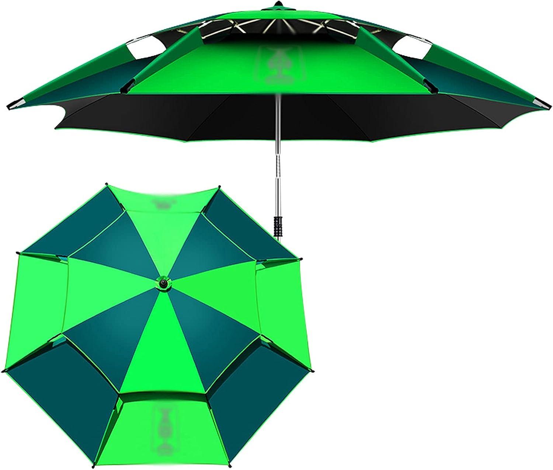ZAZAP-1 Green Garden Umbrellas Outdoor Tiltable Clearance SALE! Limited time! Sun Superlatite 360° Shade