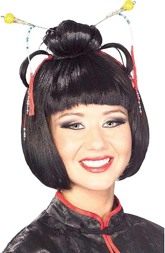 Cyberteez Geisha Girl Women's Costume Asian Lady Wig Ja Cash special price National uniform free shipping Oriental