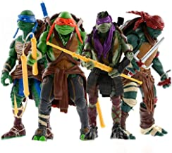 Teenage Mutant Ninja Turtles Toys - Ninja Turtles Action Figures 4 PSC Set - TMNT Ninja Turtle Toys