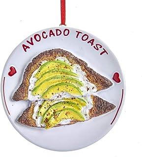 Kurt Adler Avocado Toast Ornament