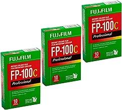 FujiFilm FP-100C Professional Instant Color Film 3-Pack (30 Prints)