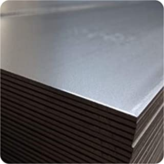 Alu-Stahl-Blech Stahlog - Chapa de metal (acero, hierro, 3 x 200 x 1000 mm)